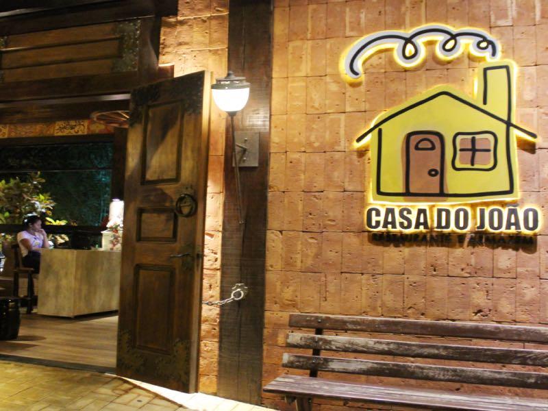 Fachada restaurante Casa do João em Bonito