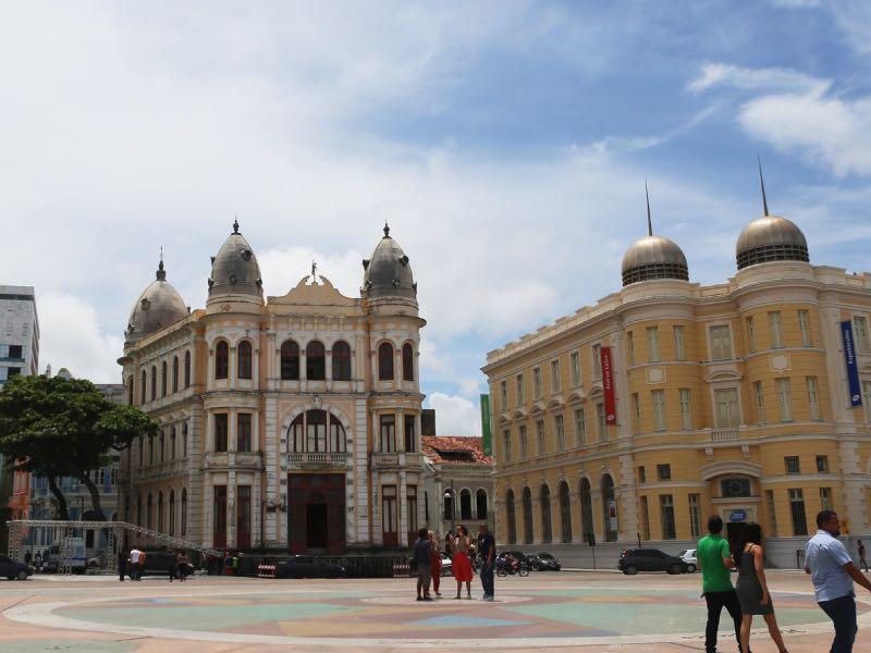 Praça do Marco Zero de Recife