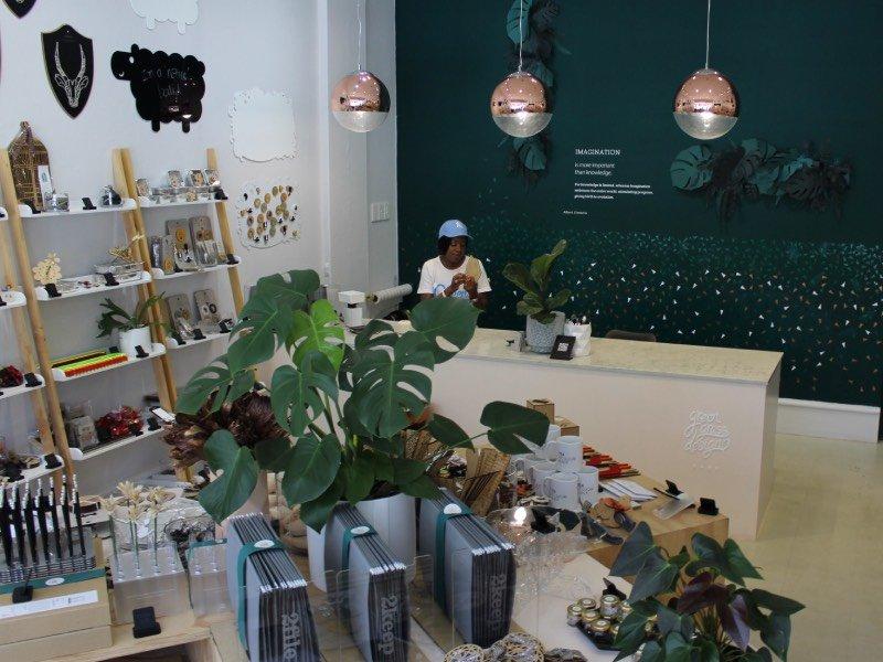 Loja Green Grass Design Studio em Joanesburgo