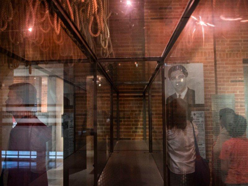 Museu do apartheid por dentro