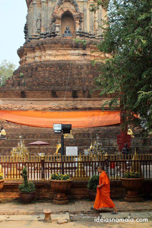 Templo wat lok molee em Chiang Mai