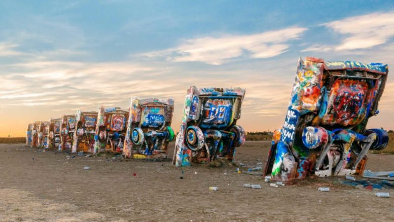 Cadillac Ranch na Rota 66