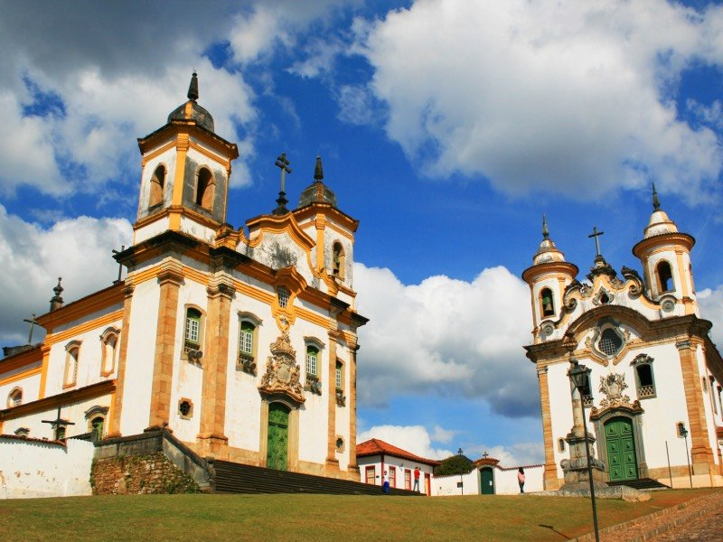 Igrejas da Praça Minas Gerais