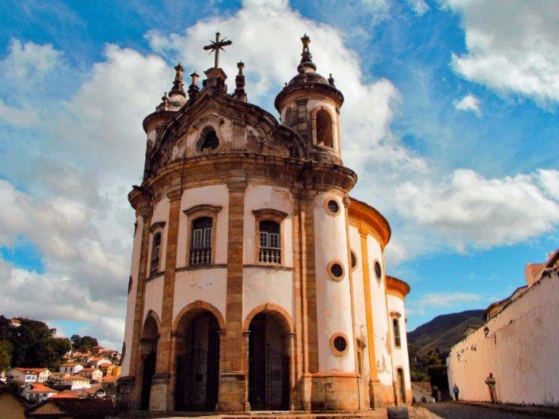 o que fazer em Ouro Preto-Igreja Rosário