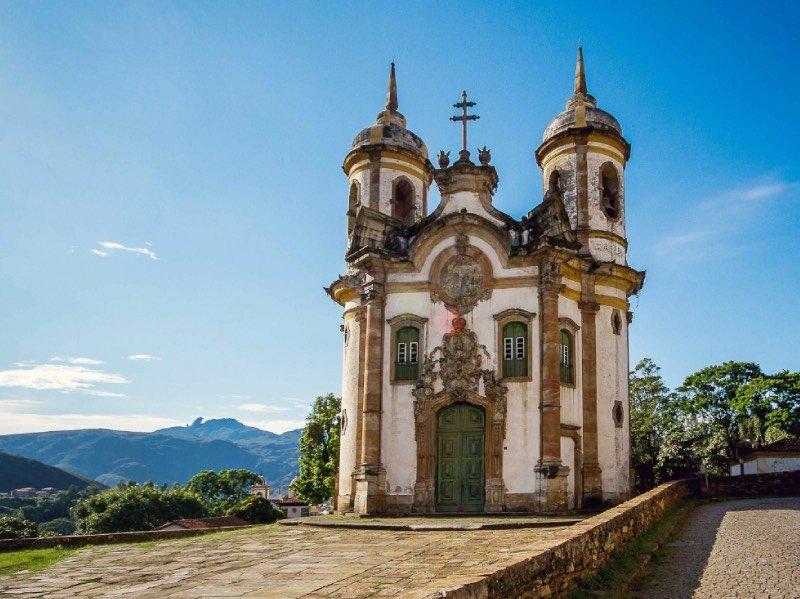 Fachada Igreja São Francisco de Assis