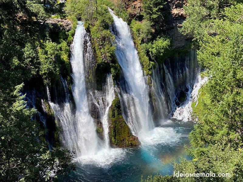Burney Falls, a cachoeira mais linda da Califórnia