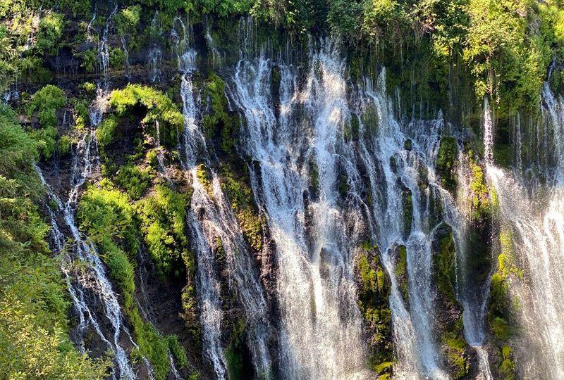Verão na Califórnia - Burney Falls