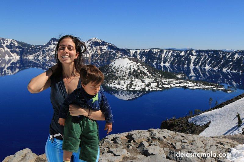 Crater Lake, um destino místico no Oregon