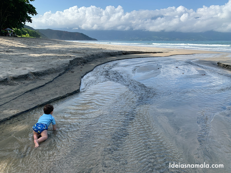 Praia de Guecá, uma das melhores praias do litoral paulista