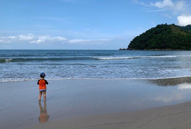 Praia de Guaecá - São Sebastião