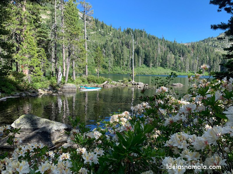 Castle Lake em pontos turísticos de Mt. Shasta