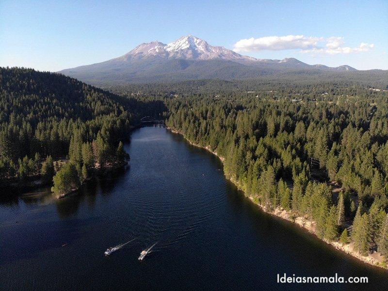 Siskiyou Lake e Mt. Shasta, um destino cheio de energia