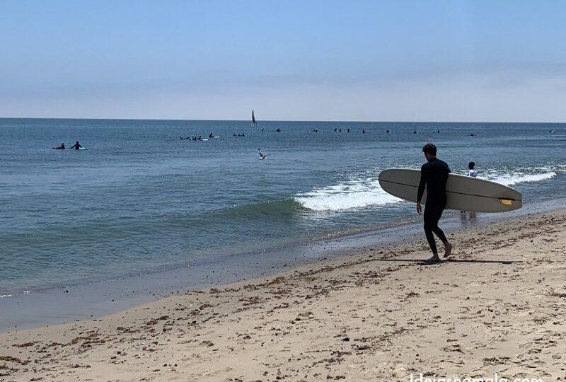 Malibu Surfrider Beach - Um reserva mundial do surf