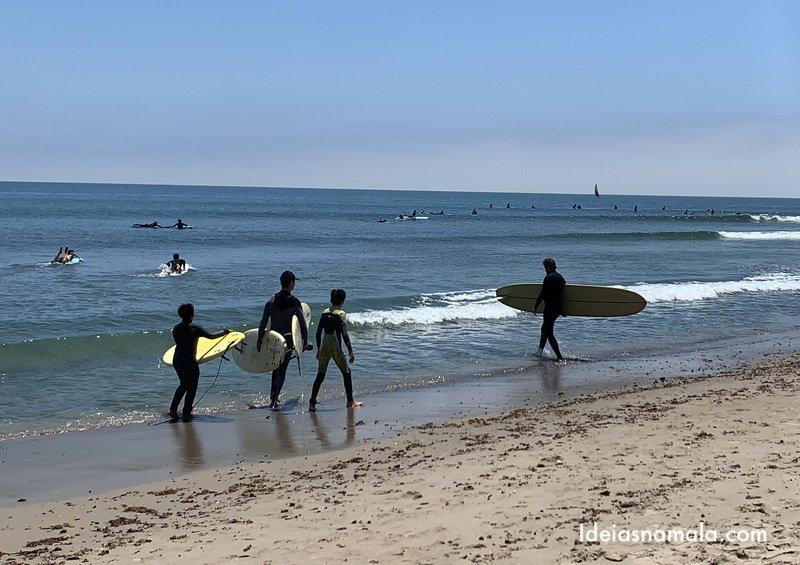 Onde surfar na Califórnia: Malibu