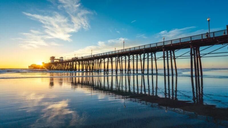 surf na california