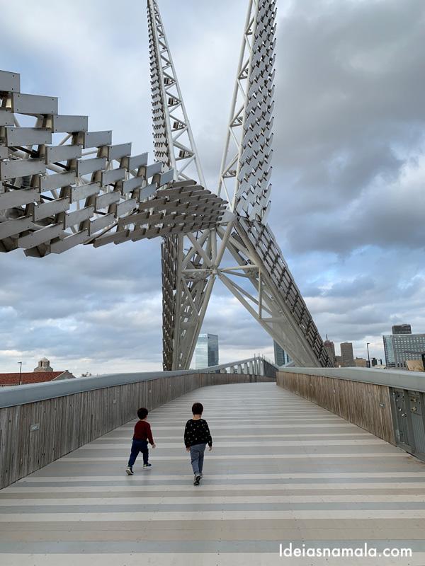 Skydance Bridge em Oklahoma City