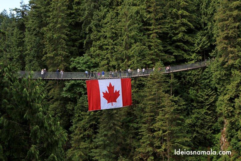 Capilano Bridge em Vancouver