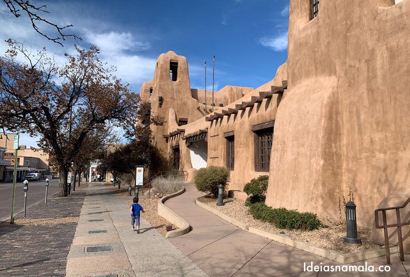 Centro histórico de Santa Fé, um passeio lindo