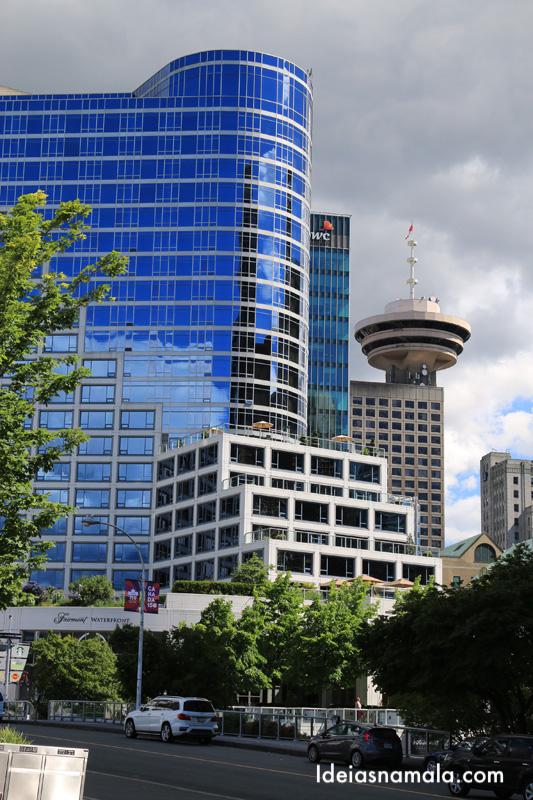 Observatório de Vancouver pedida especial para ver a cidade do alto