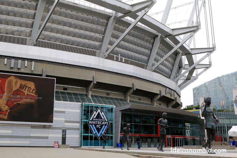 Estádio BC PLace: vale visitar o museu dos esportes que fica lá dentro