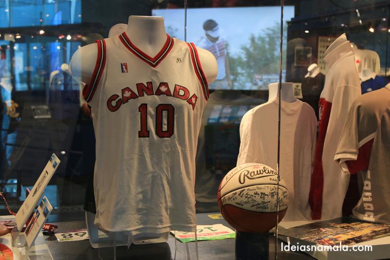 Museu dos esportes de Vancouver, uma parada sensacional