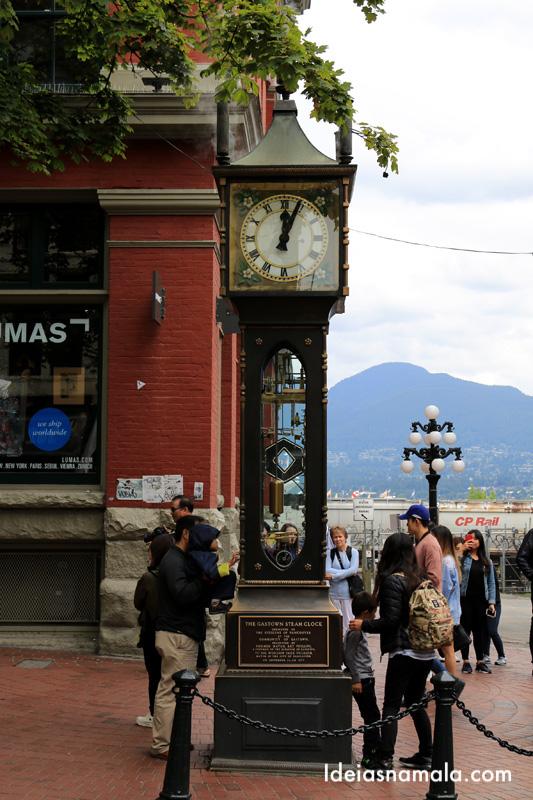 Ver o Steam Clock em Gaston - O que fazer em Vancouver