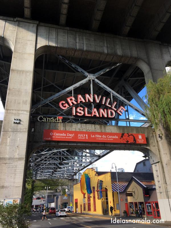 Granville Island em o que fazer em Vancouver