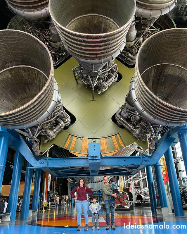 Saturn Hall no Centro Espacial de Huntsville