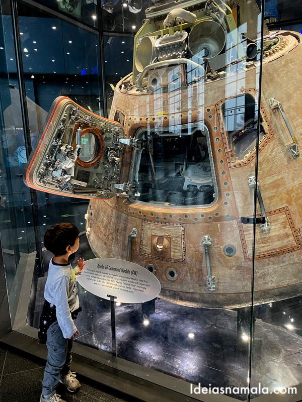 Capsula do foguete Apollo XVI