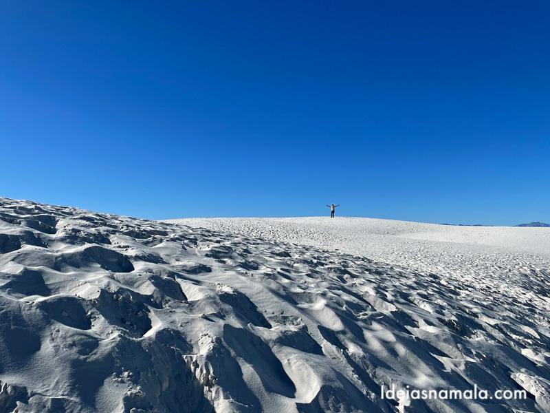 Explorando o white Sands National Park