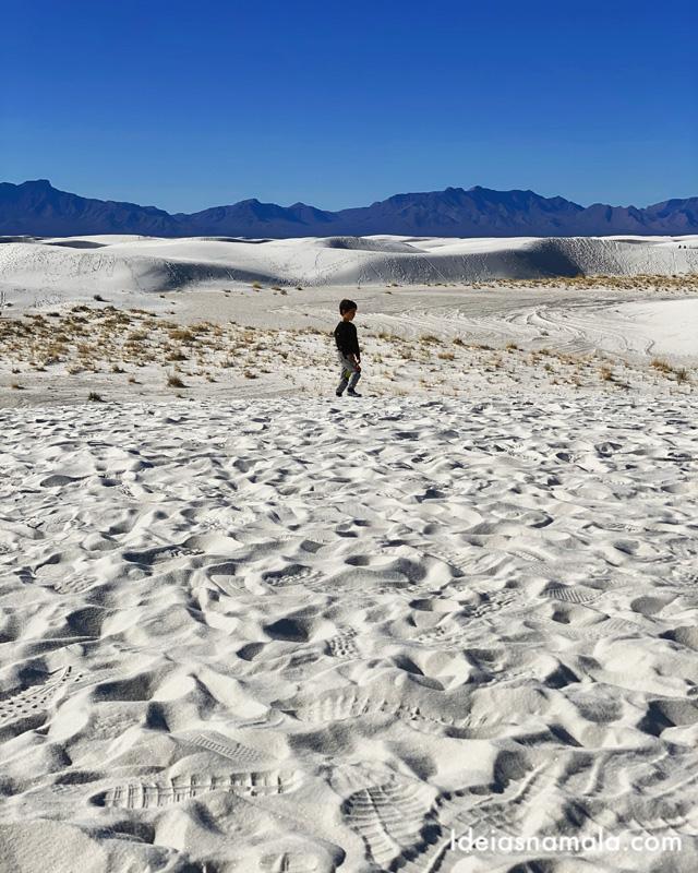 White Sands National Park e as dunas de areia branca