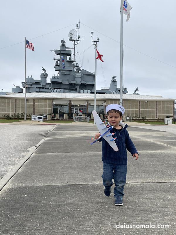 Visita ao USS Alabama