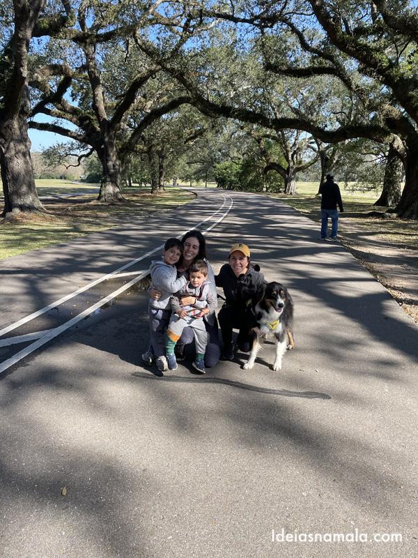 Parada em New Orleans na viagem entre Flórida e Califórnia