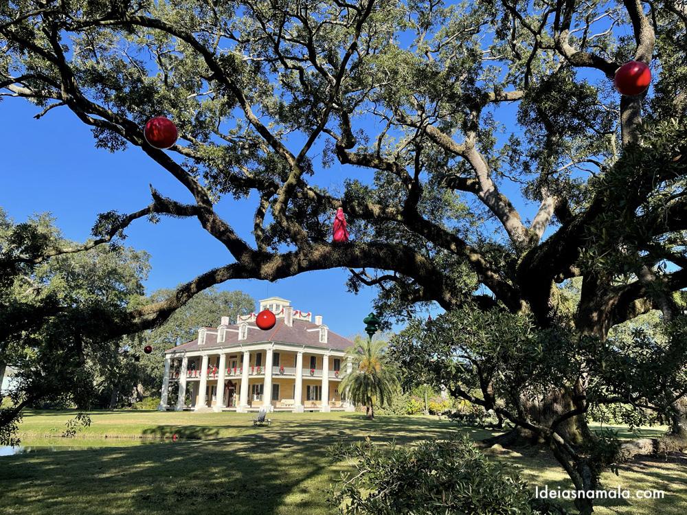 Houmas House Plantation nas aforras de New orleans