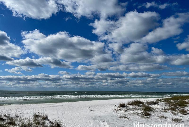 Top Sail Hill Preserve em Destin na Flórida