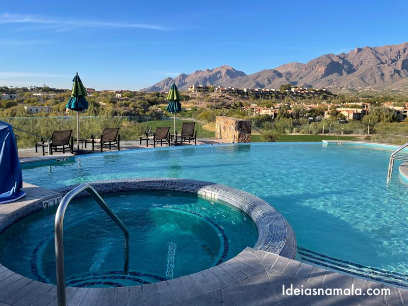 Piscina do Hacienda del Sol em Tucson