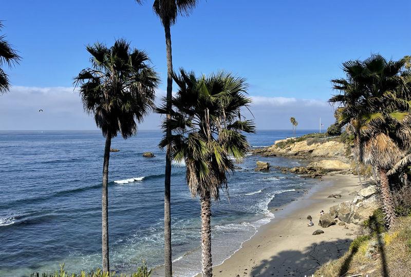 Praias do Heisler Park em Laguna Beach