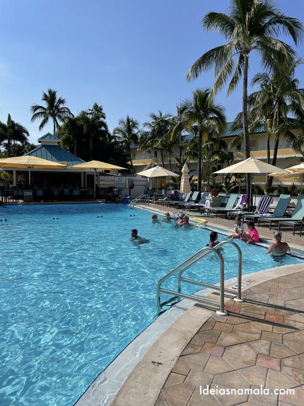 Uma das piscinas Tween Waters Island Resort