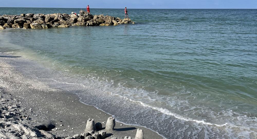 Turner Beach em Captiva na Flórida