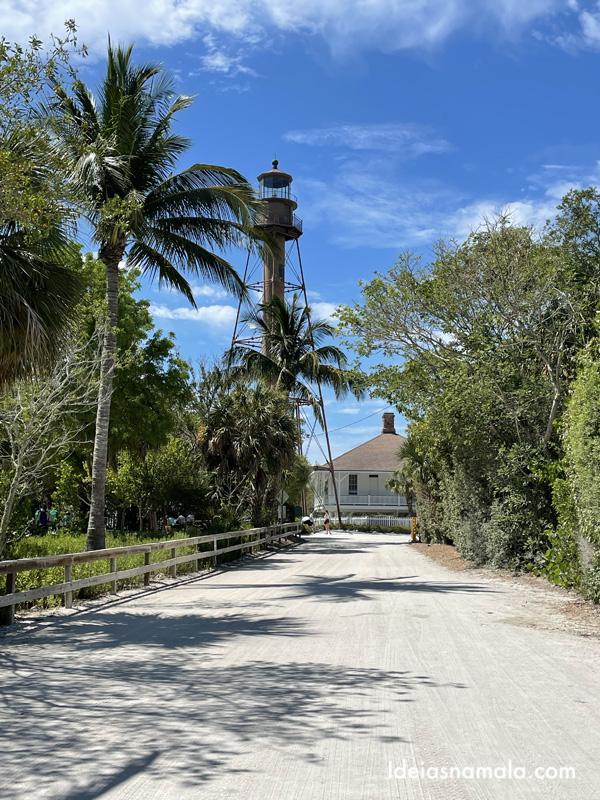 Farol de Sanibel na Flórida
