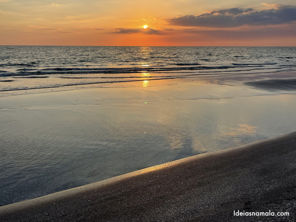 Pôr do sol em Captiva Island