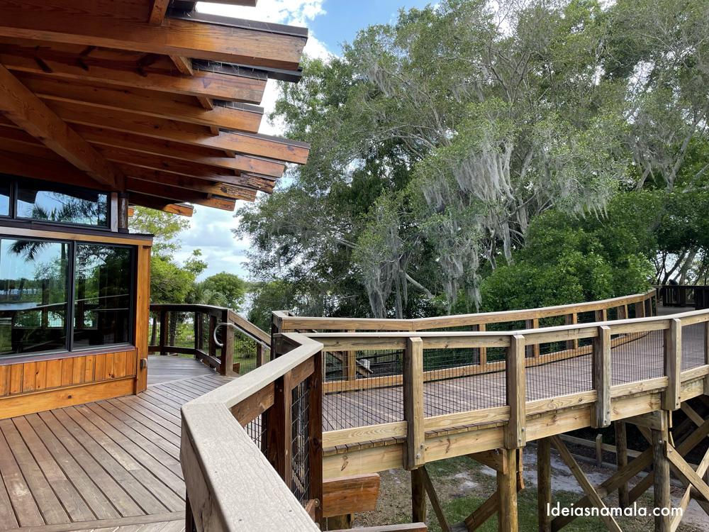 The Nest e Canopy Zone na Robinson Preserve