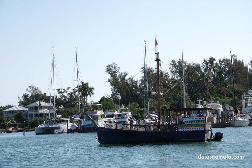 Expedição pirata com os Piratas de Cortez